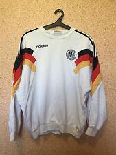 RARE Germany NATIONAL TEAM TRAINING JACKET FOOTBALL SHIRT JERSEY MAGLIA ADIDAS