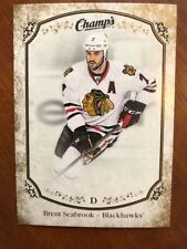 2015-16 UD Champs Gold Parallel #85 Brent Seabrook New