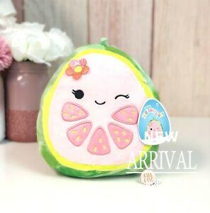"KellyToy Squishmallow 8"" Lena the Grapefruit NEW Fruit Squad Plush LT ED HTF Toy"