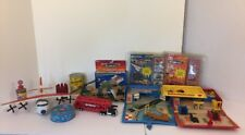 Lot of 12 Vintage Micro Machine Playsets Micro Cards 1987 1988 1989 Cargo Auto