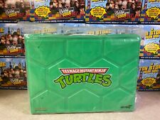 2021 Super7 Teenage Mutant Ninja Turtles Michelangelo Metallic & Carry Case SDCC