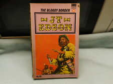 Vintage Western Book J T Edson  The Bloody Border
