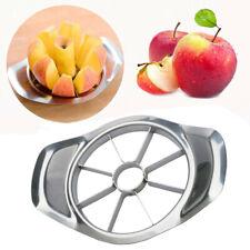 New Stainless Steel Fruit Apple Pear Easy Cut Slicer Cutter Divider Peeler