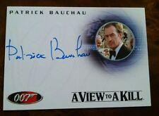 James Bond 007 In Motion Bond A93 Patrick Bauchau Autograph Card