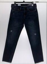 Women's Gap 1969 Sexy Boyfriend Jeans Size 28/6r Regular DESTROYED DENIM!! EUC!!