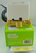 ESI 2 uscite 22mm Valvola di zona eszv222l 5 Wire VALVOLA valvola di ricambio