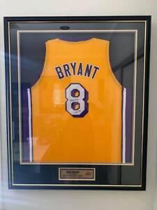 Kobe Bryant Shaquille O'Neal Magic Johnson autographed signed jerseys