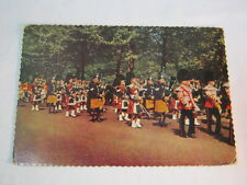 Irish Guard Pipe Band London Vtg. Postcard  T*