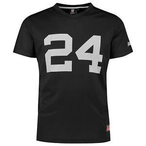 NFL Oakland Raiders Marshawn Lynch 24 Jersey Shirt Polymesh Football