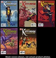 X-Men: Kitty Pryde—Shadow & Flame 1 2 3 4 5 Complete Set Run Lot 1-5 VF/NM