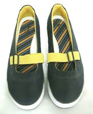 Keds Shoes Sz 7.5 Mary Jane Fashion Sneaker Hampton Sport Athletic BLUE Yellow