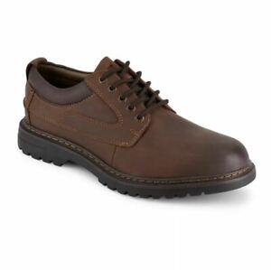 Dockers Mens Warden Water Resistant Oxfords Red Brown Shoes Size 8 90-40988