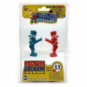 World's Smallest Classic Game * ROCK'EM SOCK'EM ROBOTS * Miniature Retro Toy