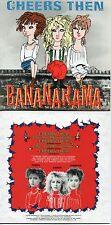 CD Single Bananarama Cheers Then 5-TRACK CARD SLEEVE