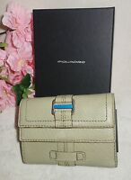 PIQUADRO ACCESSORIES LEATHER WALLET NEW  $188