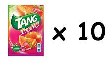 Lot de 10 sachets de tang goût tropical, jus de fruit, envoi soigné