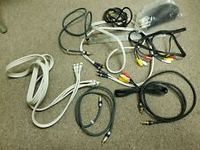 Mixed Lot of Component RCA Cables Gold Monster Audio Video Cables