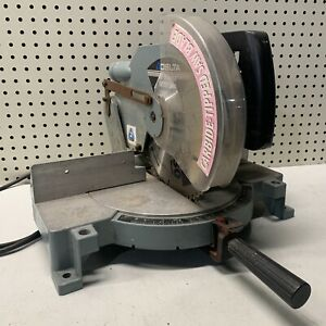 """Delta 10"""" Power Miter Saw 36-070 - COOL OLD NEEDS WORK PROJECT DIY"""