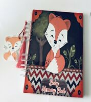 Baby Journal, Baby Book, Baby Journal And Memory Book, Fox