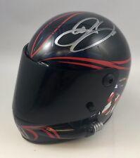 Dale Earnhardt Jr National Guard Monster NASCAR Signed 1/4 Scale Mini Helmet (F)