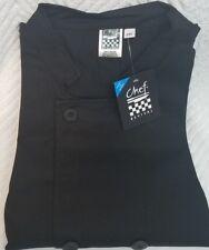 New Chef Revival Chef Jacket Xs 2xl 3xl 4xl 5xl Black Long Sleeve