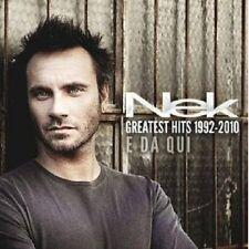 "Nek ""Greatest Hits 1992 - 2010"" 2 CD NUOVO"