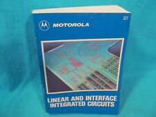 Motorola Linear And Interface Integrated Circuits Data Reference Book 1990