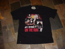nice,used Jay Z Beyonce 2014 On the Run tour t-shirt Xl Free Ship