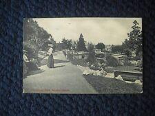 POSTCARD COURTENAY PARK, NEWTON ABBOT, DEVON 1910
