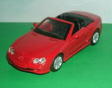 1/43 Scale 2002 Mercedes-Benz SL500 Diecast Model R230 SL-Class - MotorMax Red