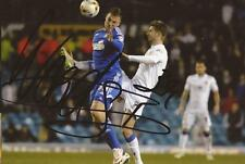 IPSWICH: CHRIS WOOD SIGNED 6x4 ACTION PHOTO+COA