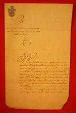 """Elstra 1856-Brauberechtigung d. Brandweinbrennens f. Gasthaus""""Zum schwarzen Roß"""""""