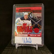 2019-20 UD Credentials Victor Olofsson Debut Ticket Access 9/25 On Card Auto