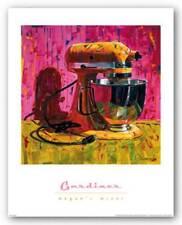 Megan's Mixer Diana Gardiner Art Print 16x16
