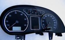 D VW Polo 9N Chrom Ringe für den Tacho/ Tachoringe - Edelstahl poliert