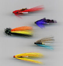 Tube Flies: Assorted. 25 mm long All Brass Tube x 5 (code 364)