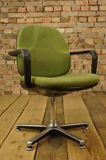 60er Vintage Easy Chair Lounge Sessel Konferenz Schreibtisch Stuhl Drabert 1/4