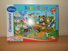 Clementoni Disney Mickey's Farm Adventure 104 Piece Jigsaw Puzzle