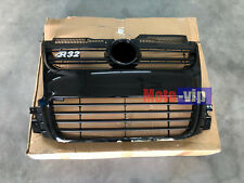 Euro Style Car Front Glossy Black Grill Grille Fit for 06-09 MK5 VW Golf R32