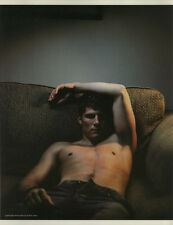 Travis Van Winkle 7pg FLAUNT magazine feature, clippings