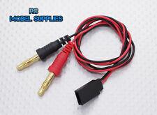 4mm Banana Plug to Futaba Plug Charge Lead Adapter. UK STOCK.