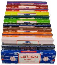 4 Boxes of Satya Incense Sticks - Stock Clearance (4 Different Scents)