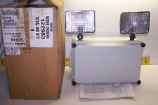 NEW PHILIPS EMERGENCY LIGHT W/ RECHARGEABLE BATTERY 120/277 VAC  NX12L50PSBD