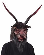 Overlord Giant Horned Devil Adult Halloween Mask with Moving Mouth
