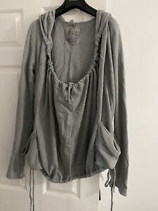 All Saints Hooded Top Size 12!