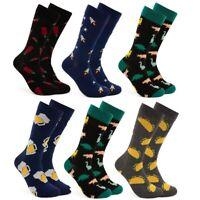 Sock Paper Scissors Men's Crew Socks Casual Dress Novelty Fun Patterned Mid Calf