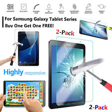 """Screen Tempered Glass 2-Pack Film Protector For Samsung Tab A 10.1"""" 2019/2016"""