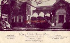 1956 BETSEY MILLS DINING ROOM Accommodations for Women MARIETTA, OHIO