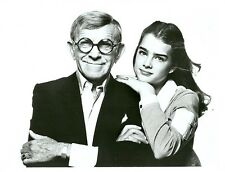 YOUNG BROOKE SHIELDS GEORGE BURNS JUST YOU AND ME KID ORIG 1981 ABC TV PHOTO