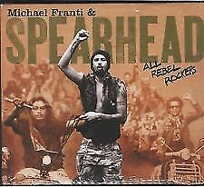 MICHAEL FRANTI & SPEARHEAD  - All Rebel Rockers NEW 13 TRACK DIGIPACK